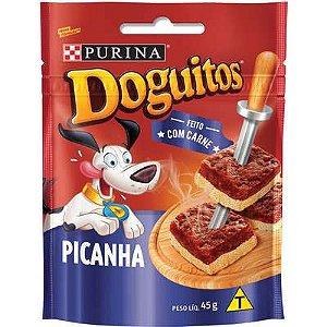 DOGUITOS PURINA CÃES PICANHA 45G