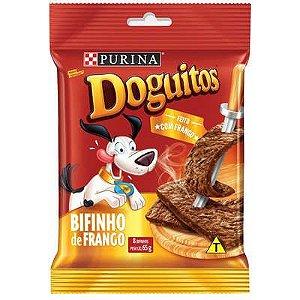 DOGUITOS PURINA CÃES BIFINHO FRANGO 65G