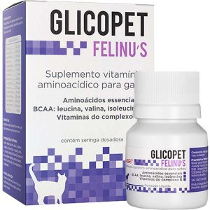 Suplemento Vitamínico Avert Glicopet Felinus para Gatos 100ML