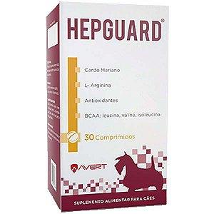 Suplemento Alimentar Avert Hepguard para Cães 30 Comprimidos