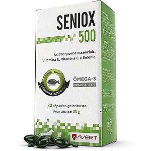 Suplemento Avert Seniox com 30 Cápsulas 500 MG