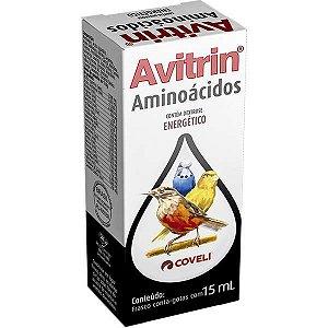 Avitrin Aminoácidos Para Pássaros 15 ML