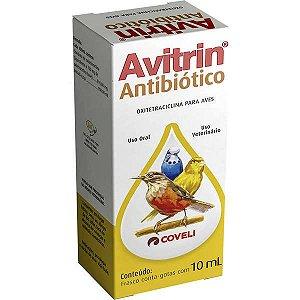Avitrin Antibioticos Para Pássaros 10 ML