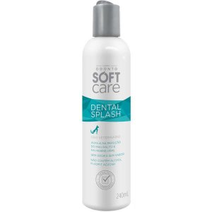 Solução Oral Pet Society Soft Care Dental Splash 240ML
