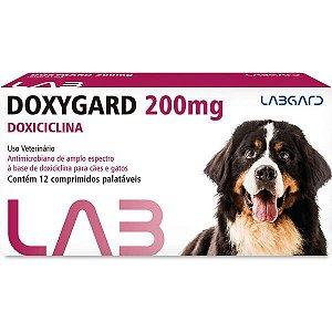Antimicrobiano Labgard Doxygard 200 mg para Cães de Raças Grandes 200MG