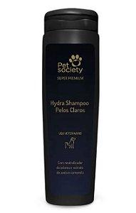 Shampoo Pet Society Super Premium Pelos Claros 300ML