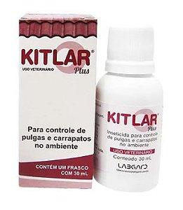 Inseticida Kitlar Plus para Controle de Pulgas e Carrapatos 30 ML