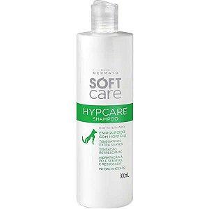 Shampoo Pet Society Soft Care Hypcare para Pele Ressecada 300ML