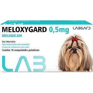 Anti-inflamatório Labgard Meloxygard 0,5MG para Cães de Raças Pequenas 10 Comprimidos