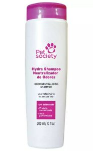 Shampoo Pet Society Cães e Gatos Neutralizador de Odores 300ML