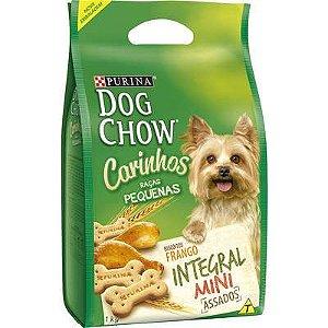 DOG CHOW CARINHOS INTEGRAL MINI 1KG