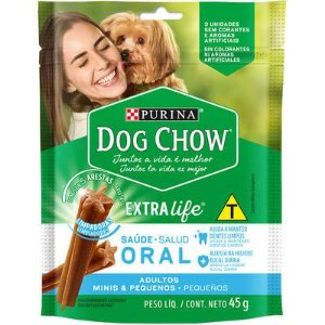 DOG CHOW ORAL MINI PEQUENO 45G