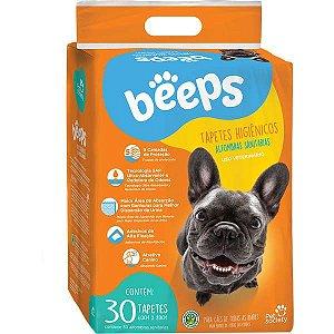 Tapete Higiênico Beeps Training Com 30 Unidades