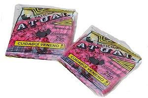Rato Camundongo Ratazana Veneno Granulado Rosa 25G