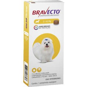 BRAVECTO 112,5 MG (ATE 4,5 KG)
