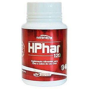 Suplemento Alimentar Nutripharme HPhar 120 para Cães e Gatos 30 Comprimidos