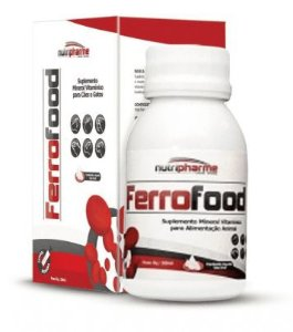 Suplemento Vitamínico para Cães e Gatos Ferrofood Nutripharme 50ML