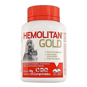 Hemolitan Gold Com 30 Comprimidos