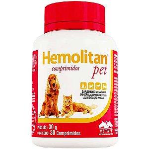 Hemolitan Pet Com 30 Comprimidos
