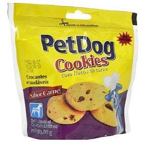 Pet Dog Cookie Sabor Carne 80G