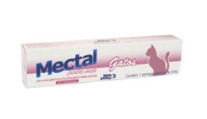 Vermífugo Mectal Mundo Animal para Gatos 3,6G
