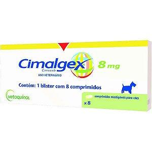 Anti-Inflamatório Vetoquinol Cimalgex Cimicoxib 8 Comprimidos 30MG