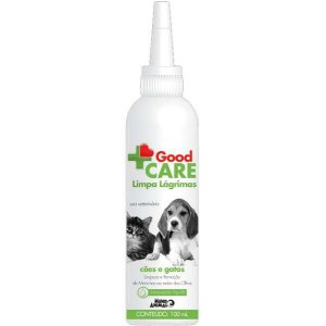 Limpa Lágrimas Mundo Animal Good Care para Cães e Gatos 100ML