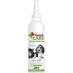 Limpa Lágrimas Mundo Animal Good Care para Cães e Gatos 100ML