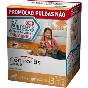 Comfortis 4,5 A 9 Kg - Combo