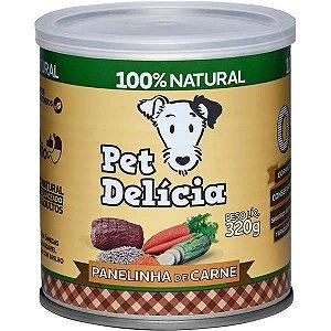 Pet Delícia Ração Úmida Cães Panelinha de Carne 320G