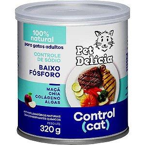 Pet Delícia Ração Úmida Gatos Control Cat 320G