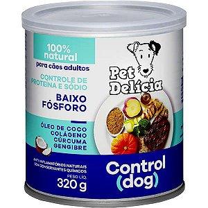 Pet Delícia Ração Úmida Cães Control Dog 320G