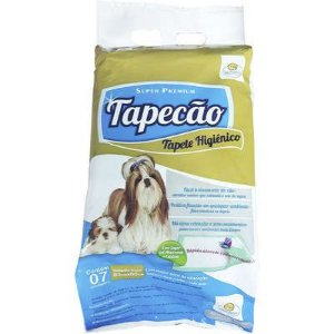 TAPETE HIGIENICO CÃES TAPECAO 30 UNIDADES