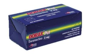 Carrapaticida Dorax Pet 6MG Com 4 comprimidos