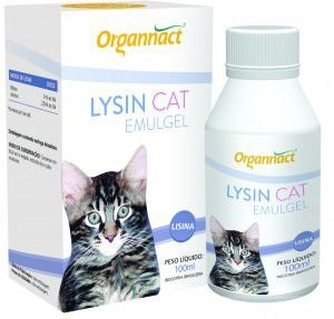 LYSIN CAT EMULGEL 100ML