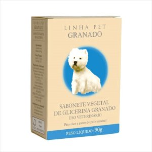 Sabonete Pet Vegetal de Glicerina 90 G