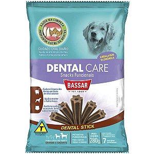 Dental Care Bassar Pet Food para Cães Raças Grandes 7 Unidades