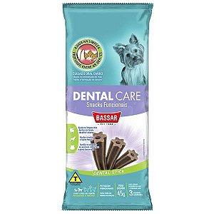 Dental Care Bassar Pet Food para Cães Raças Pequenas 3 Unidades