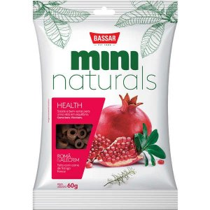 Snacks Bassar Mini Naturals Health Romã & Alecrim 60G