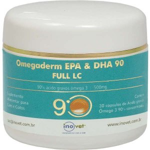 Suplemento Inovet Omegaderm 30 Cápsulas 90%
