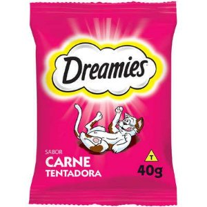 PETISCOS GATOS DREAMIES CARNE 40G