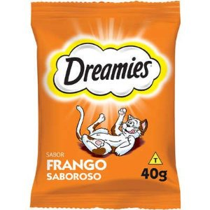 PETISCOS GATOS DREAMIES FRANGO 40G