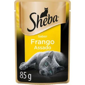 SHEBA SACHE ADULTO FRANGO ASSADO 85G