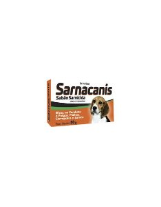 SABONETE SARNACANIS SARNICIDA 80G