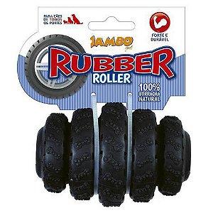 RUBBER ROLLER MÉDIO PRETO