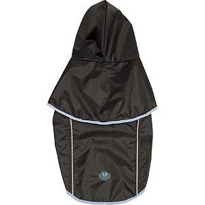 Capa de Chuva Cinza/Azul P