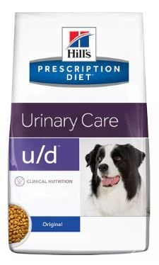 Ração Hills Prescription Diet U/D Cuidado Urinário Para Cães Adultos Com Doenças Urinárias 3,8KG
