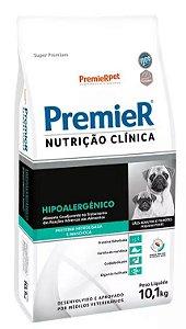 Premier Nutrição Clínica Hipoalergênico para Cães de Pequeno Porte 10,1KG