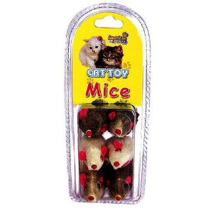 CAT TOY RATINHOS PACK COM 6