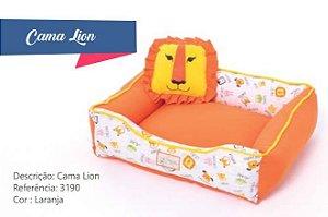 CAMA LION LARANJA M